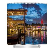 Miami Bayside Freedom Tower Shower Curtain