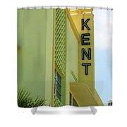 Miami Beach - Art Deco 10 Shower Curtain
