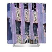 Miami Beach - Art Deco 12 Shower Curtain