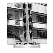 Miami Beach - Art Deco 17 Shower Curtain