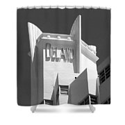 Miami Beach - Art Deco 23 Shower Curtain