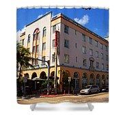 Miami Beach - Art Deco 36 Shower Curtain