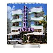 Miami Beach - Art Deco 37 Shower Curtain