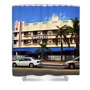 Miami Beach - Art Deco 38 Shower Curtain