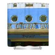 Miami Beach - Art Deco 6 Shower Curtain