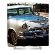 Miami Beach Classic Car 2 Shower Curtain