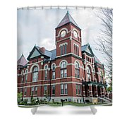 Miami County Courthouse 3 Shower Curtain