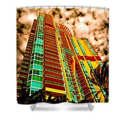 Miami South Pointe II Shower Curtain