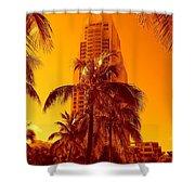 Miami South Pointe Iv Shower Curtain