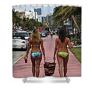 Miami Vice Shower Curtain