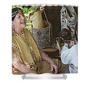 Miccosukee Indian Tribe Shower Curtain