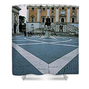 Michael Angelo's Campidoglio Shower Curtain