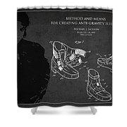 Michael Jackson Patent Shower Curtain