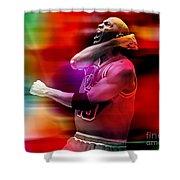Michael Jordon Shower Curtain