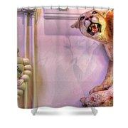 Michelin Man Shower Curtain
