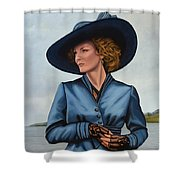 Michelle Pfeiffer Shower Curtain