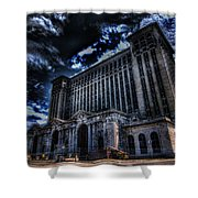 Michigan Central Station Hdr Shower Curtain
