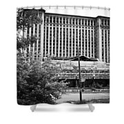 Michigan Central Station Shower Curtain