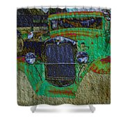 Michigan Coupe Shower Curtain by MJ Olsen