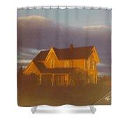 Michigan Farm House Shower Curtain