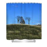 Michigan Fields Shower Curtain