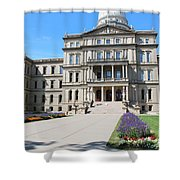 Michigan State Capital Shower Curtain