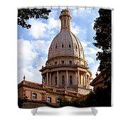 Michigan State Capitol Shower Curtain