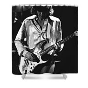 Mick On Guitar 1977 Shower Curtain