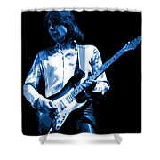 Mick Plays The Blues 1977 Shower Curtain