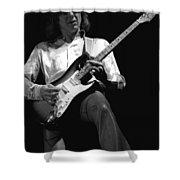 Mick Rocks 1977 Shower Curtain