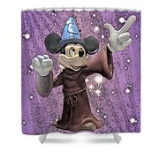 Mickey And The Stars Shower Curtain