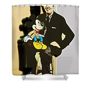 Mickey And Walt Shower Curtain