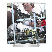 Mickey Hart Band Shower Curtain