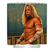 Mickey Rourke Shower Curtain
