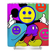 Mickey Smiles Shower Curtain