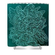 Microbe Maybe Shower Curtain