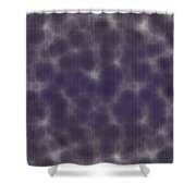 Microscopic Scale - Purple  Shower Curtain