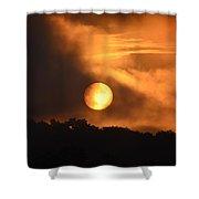 Mid-july Sunrise Shower Curtain