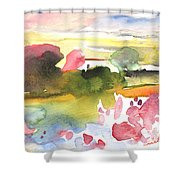 Midday 33 Shower Curtain