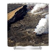 Middle East Rift Vent Shower Curtain
