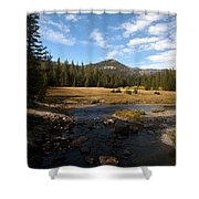 Middle Fork Of The San Joaquin River Shower Curtain