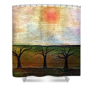 Middle Of Day  Shower Curtain