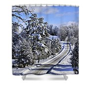 Middle Road Franklin Shower Curtain