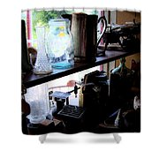 Middlebrook General Store Window Shower Curtain