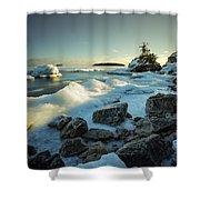Middlebrun Bay Sunset II Shower Curtain