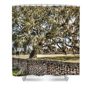 Middleton Brick Wall Shower Curtain