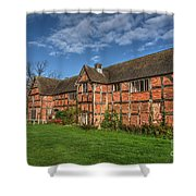 Middleton Hall Courtyard Centre Shower Curtain