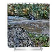 Middleton Hall Waterfall Shower Curtain