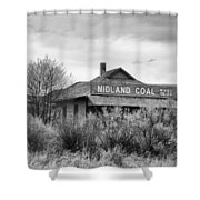 Midland Coal Mining Co. Shower Curtain