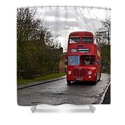 Midland Red Bus Shower Curtain